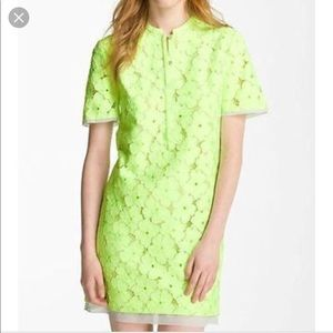 DVF Warner dress flower lace dress